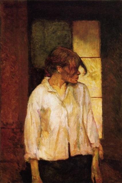 Henri de Toulouse-Lautrec. Rosa la rouge