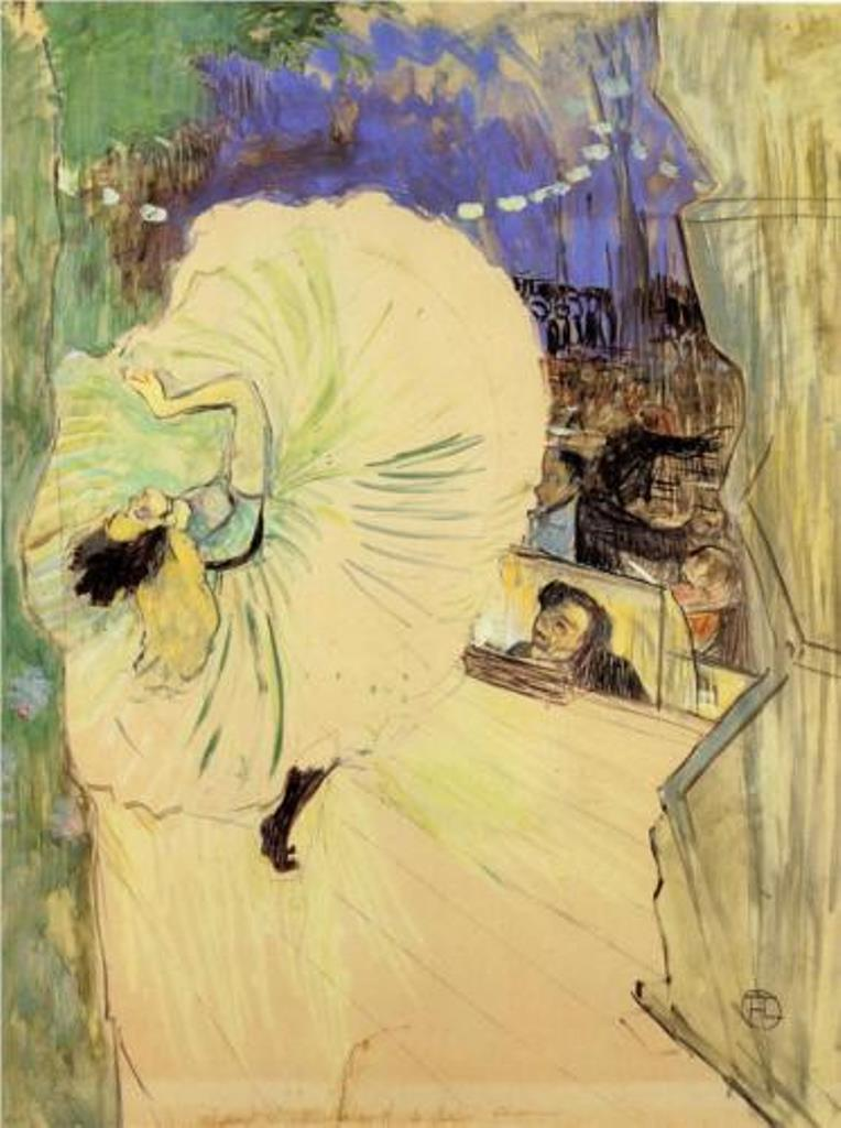 Henri de Toulouse-Lautrec. The cartwheel 1893