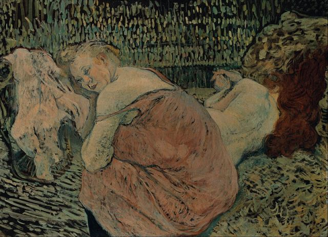 Henri de Toulouse-Lautrec. Two friends 1895