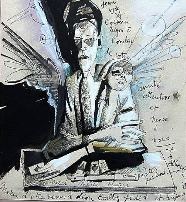 Jean Cocteau. Autoportrait 1930