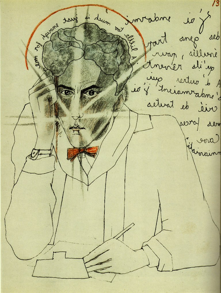 Jean Cocteau, dessins originaux(1924) pour Le mystère de Jean l'oiseleur 1925. Scan personnel du catalogue Exposition Cocteau, C