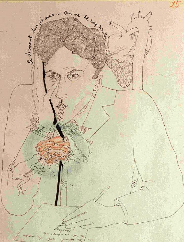 Jean Cocteau. Le mystère de Jean l'oiseleur n°15, 1924 Via RMN