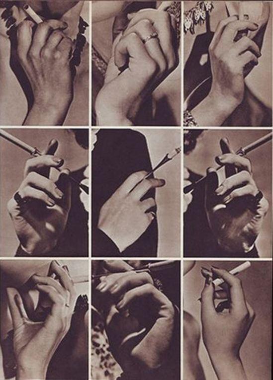 John Everard. Hands smoking. Via flick