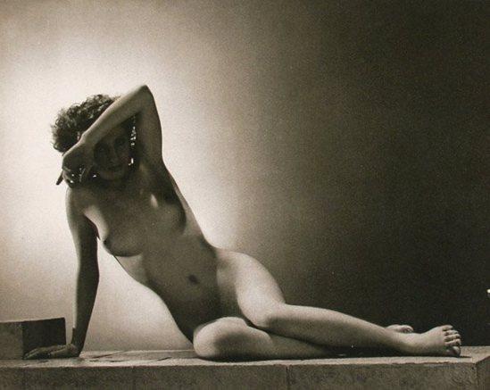 John Everard. Nude  1941 Via liveauctioneers