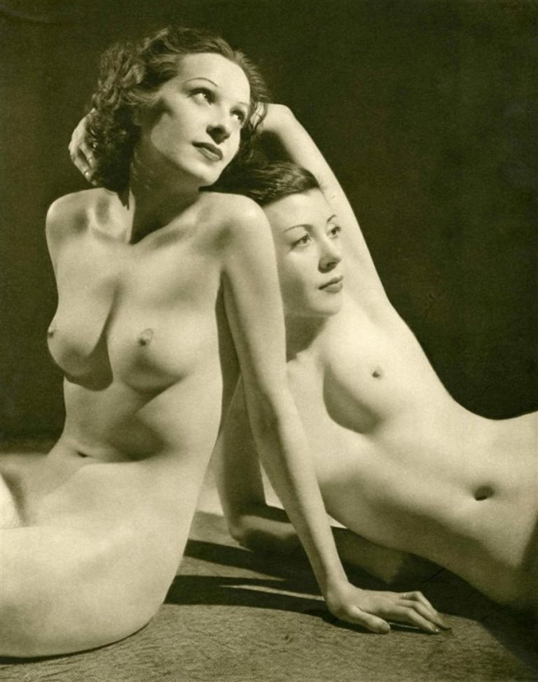 John Everard. Nude No. 02 1941 Via liveauctioneers