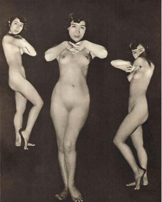 John Everard. Vintage Japanese female nude 1950. Photogravure. Via ebay
