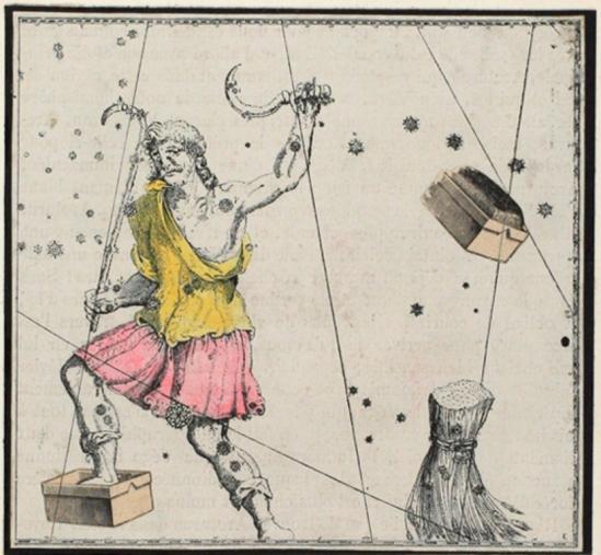 Joseph Cornell. Le Bouvier de l'atlas de Bayer (1603) 1934 Via ubugallery