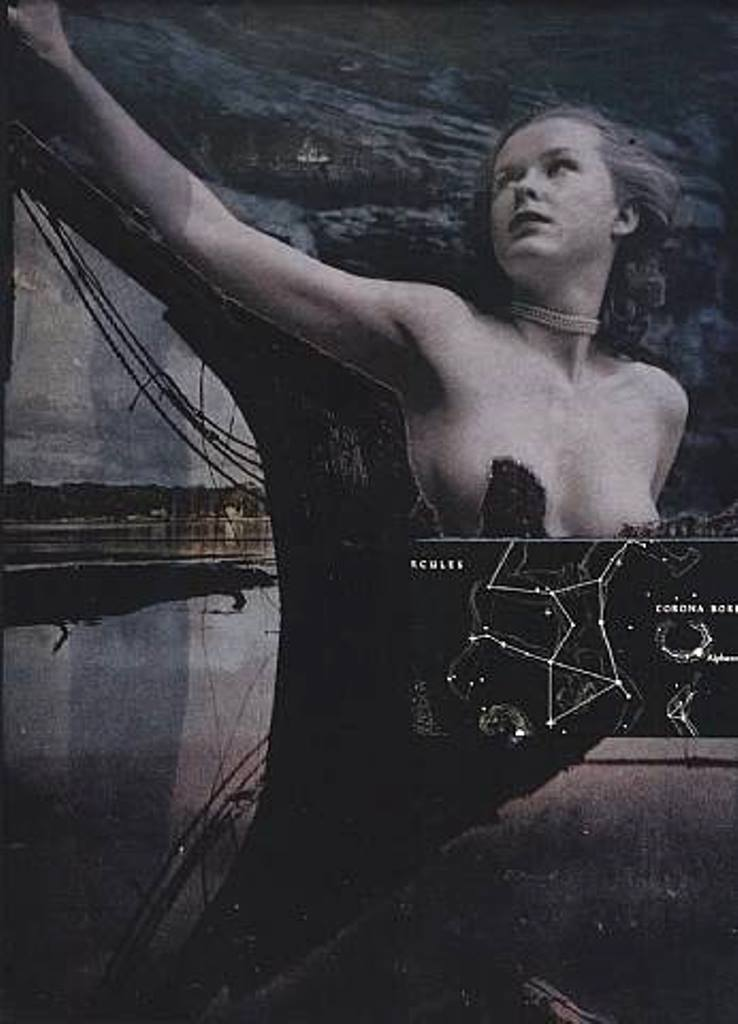 Joseph Cornell. Untitled (Ship with Nude) 1964-1966 Via artnet