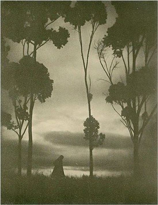 Karl Struss13. Storm clouds 1925. Via luminous-lint.