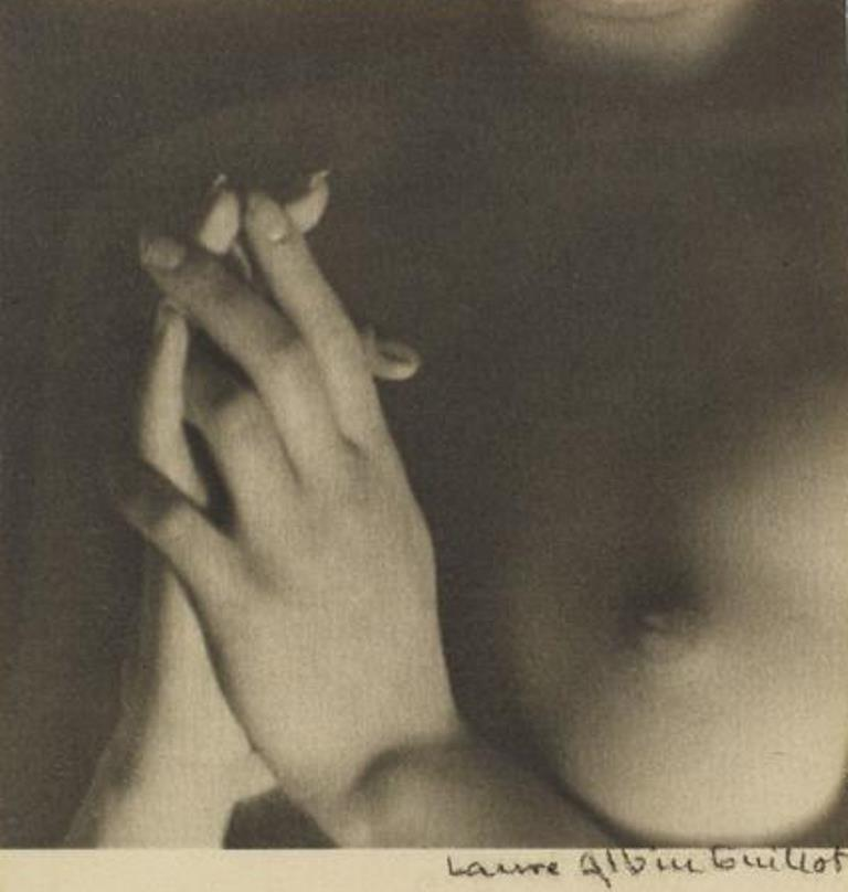 Laure Albin Guillot. Nu 1930 Via RMN