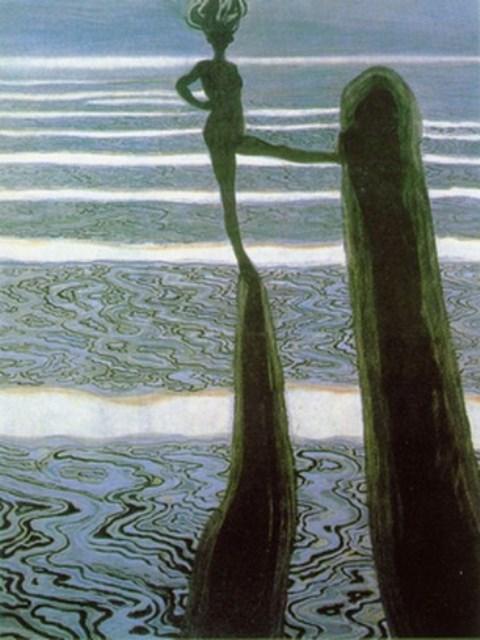 Lèon Spilliaert. La pose 1910