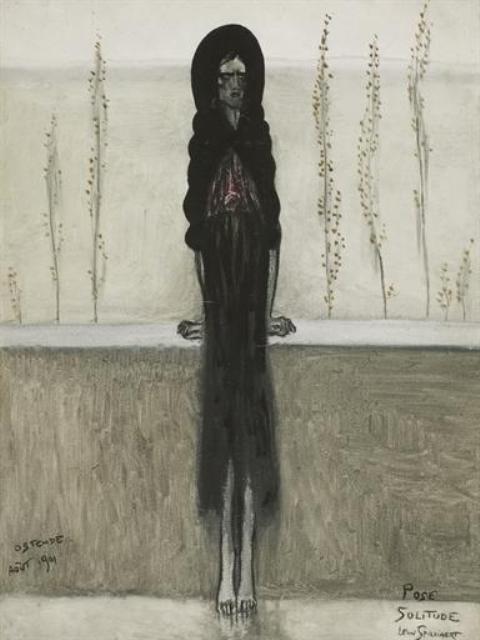 Lèon Spilliaert. Pose, solitude 1901