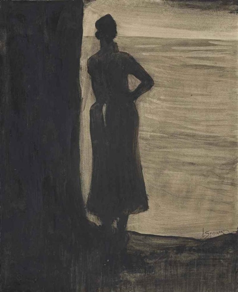 Léon Spilliaert . Attente 1902