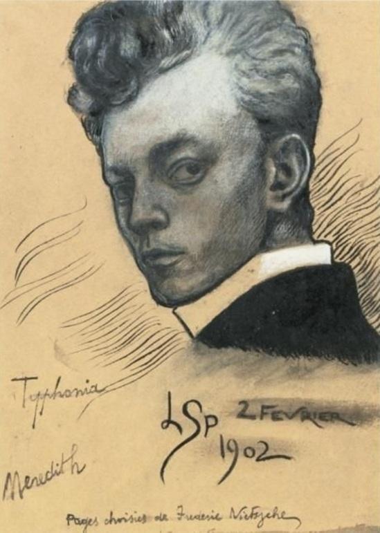 Léon Spilliaert. Autoportrait 1902