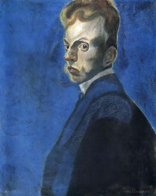Léon Spilliaert. Autoportrait 1907