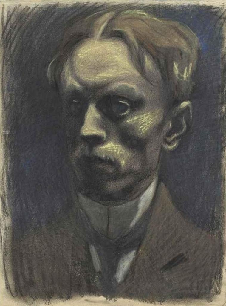 Léon Spilliaert. Autoportrait 1911