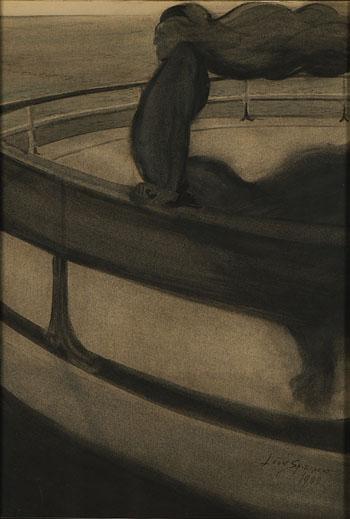 Léon Spilliaert, La Rapace, 1902