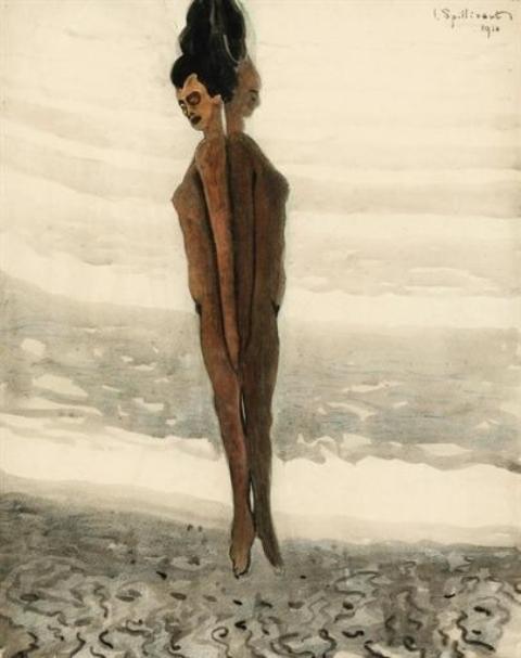 Léon Spilliaert. L'élévation 1910