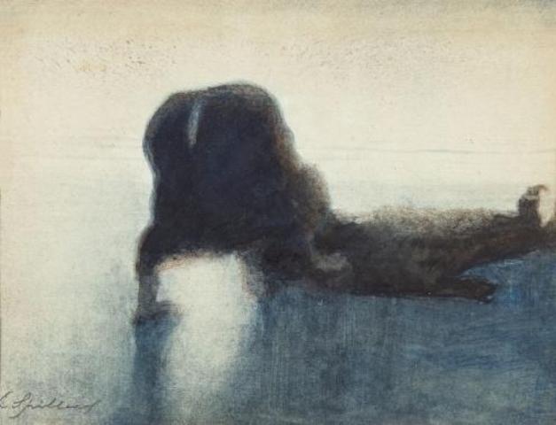 Léon Spilliaert. Le noyé 1910