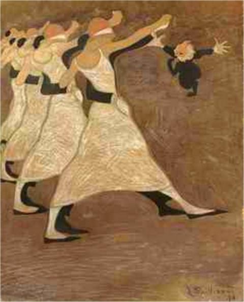 Léon Spilliaert. Les danseuses 1913