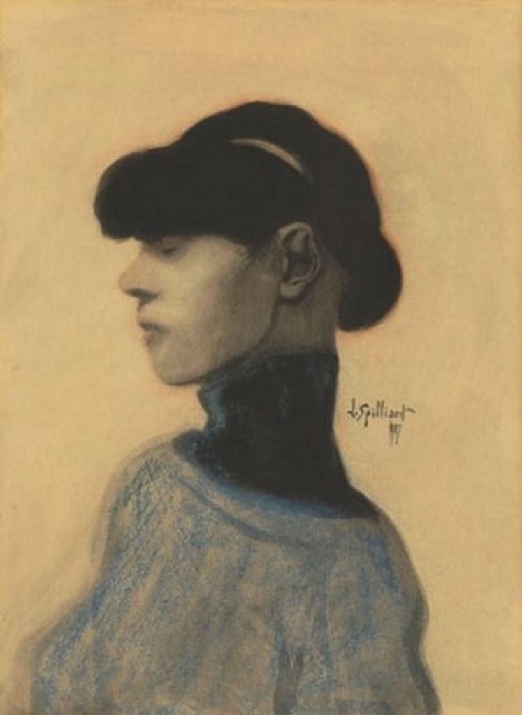 Léon Spilliaert. Profil 1907jpg
