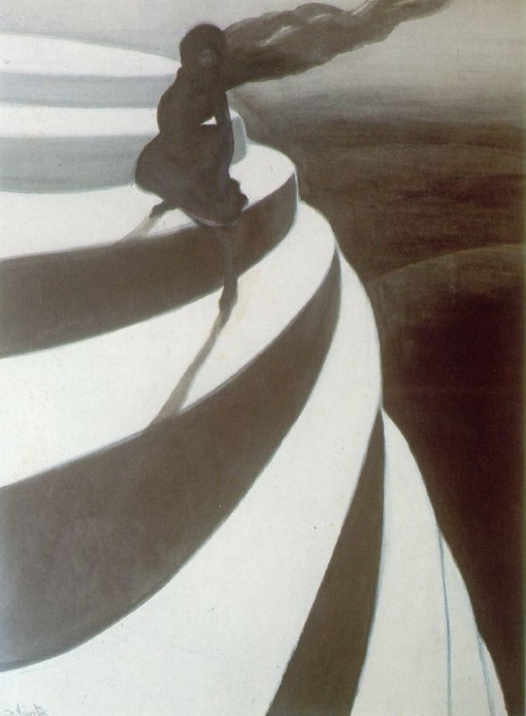 Léon Spilliaert. Vertige 1908