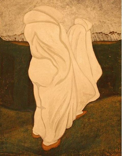 Léon Spilliaert, White robes 1912