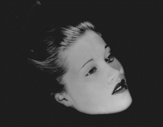 Lee Miller, Floating Head (Mary Taylor), New York Studio, New York, 1933. Via theredlist