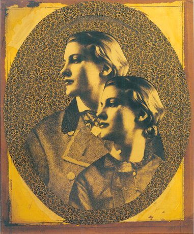 Joseph Cornell. Untitled (collage of Lee Miller) 1949
