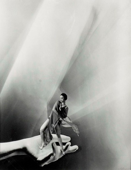 Lotte Jacobi 1950. Photomontage Via cowansauctions