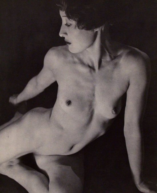 Louis Caillaud. Nude #15 1935 Via liveauctioneers
