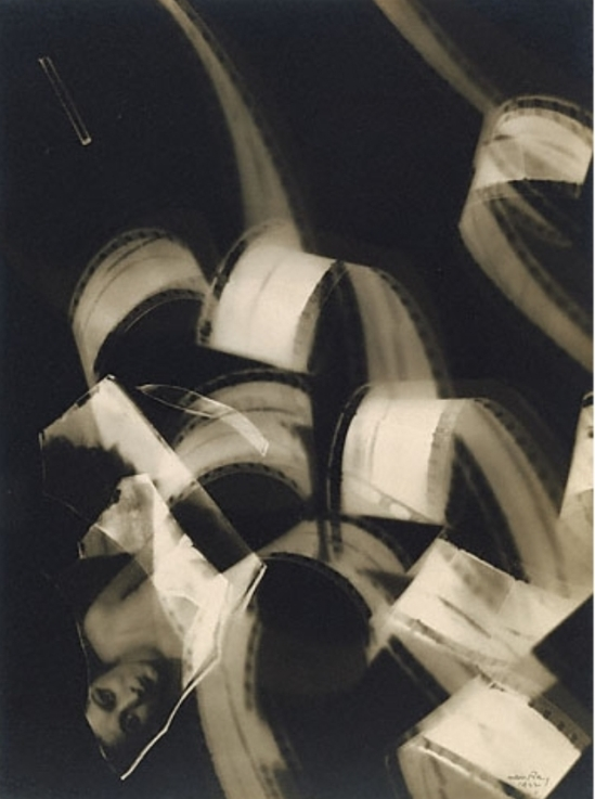 Man ray. Filmstrips with Kiki, 1922. Via mutualart