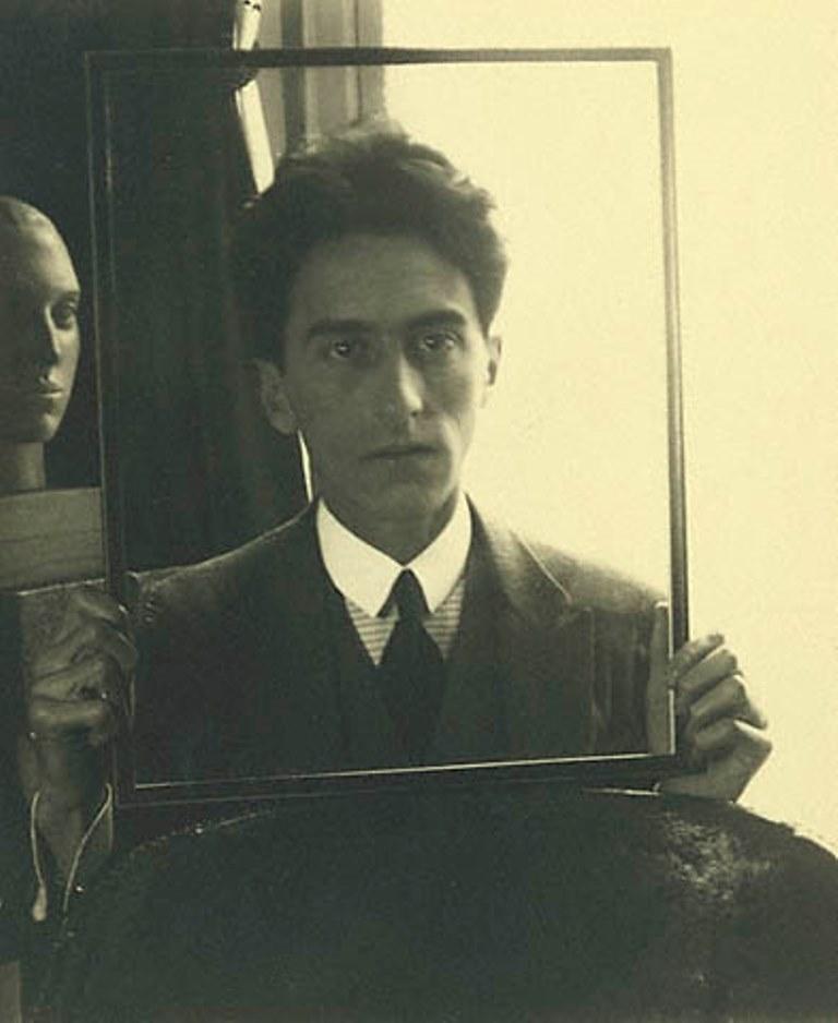 Man Ray. Jean Cocteau 1912