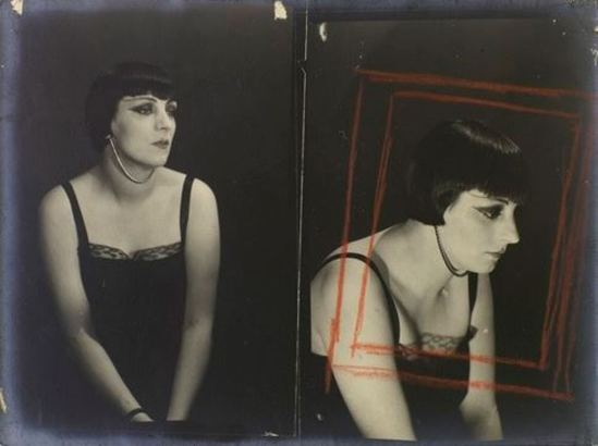 Man Ray5. Kiki de Montparnasse vers 1924. Via RMN