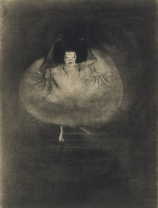 Marius De Zayas. Madame Hanako 1910. Camera work. Via photogravure
