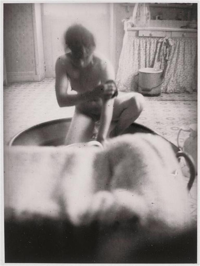 Marthe Bonnard au bain par Pierre Bonnard