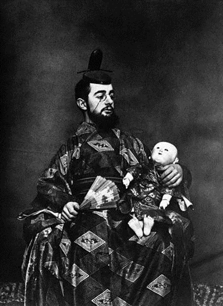 Maurice Guibert. Henri de Toulouse-Lautrec en oriental 1892