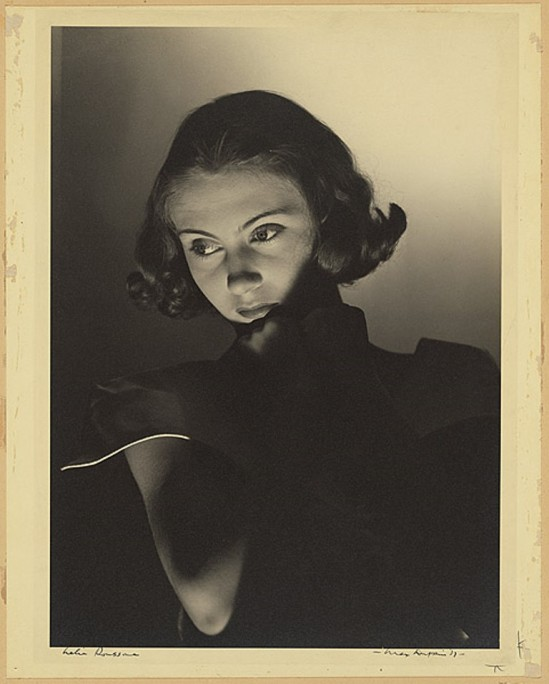 Max Dupain Lelia Roussova 1937. Via NGA