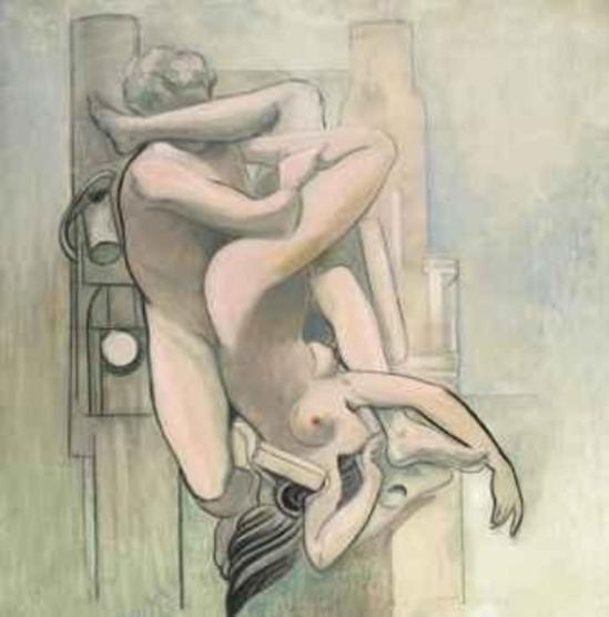 Max Ernst. La chute de l'ange 1923