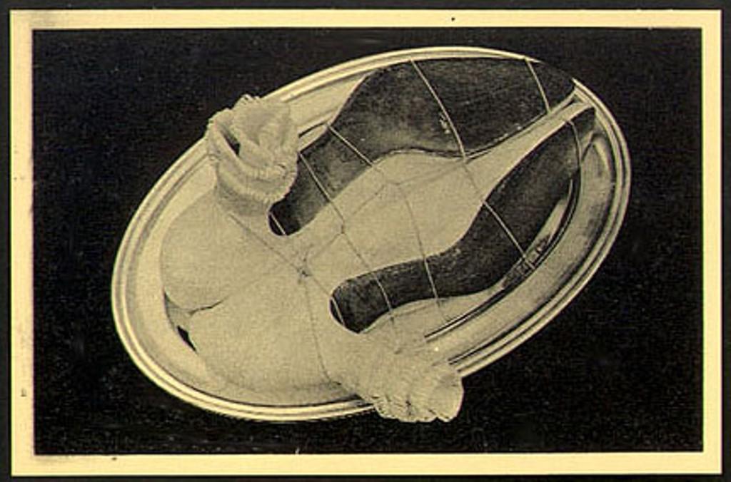 Meret Oppenheim. La carte surréaliste 1937 Via vastaimages