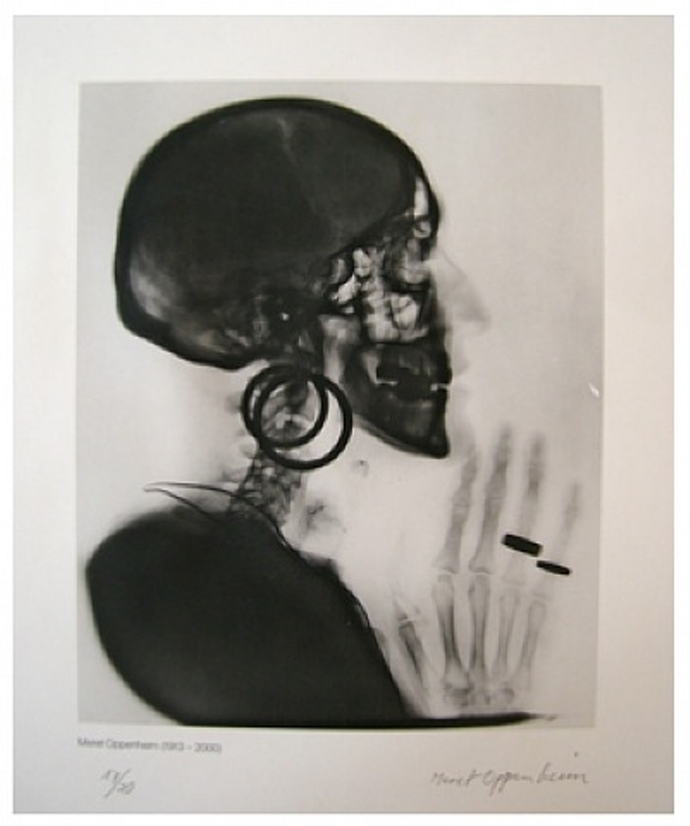 Meret Oppenheim. X-Ray 1964 Via artnet