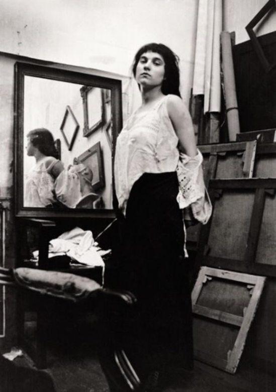 Modèle au miroir © Pierre Bonnard