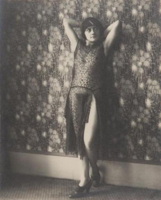 Monsieur X. Transparence de dentelle, ca. 1930 Via drouot