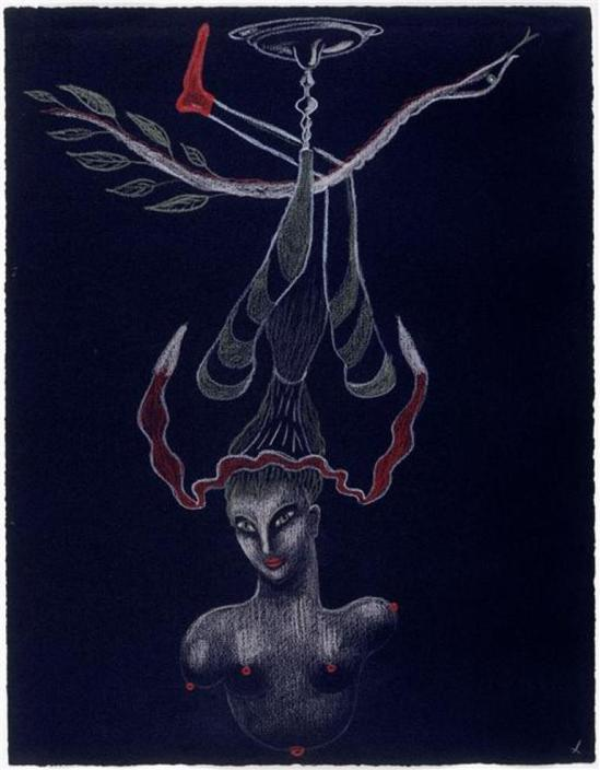 Nusch Eluard. Cadavre exquis 1931 Via RMN