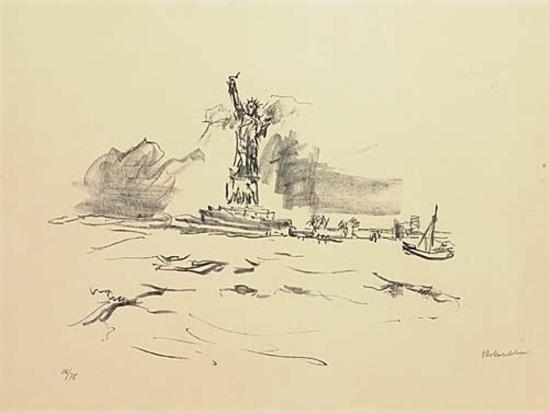 Oskar Kokoschka. Manhattan 1967