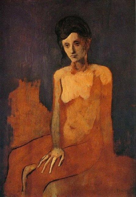 Pablo Picasso 1904-1905