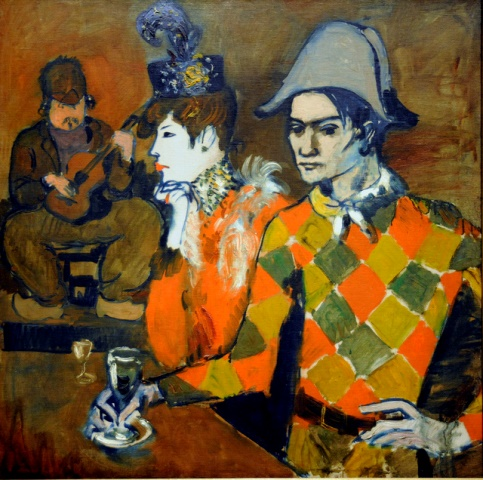 Pablo Picasso. At the Lapin Agile 1905