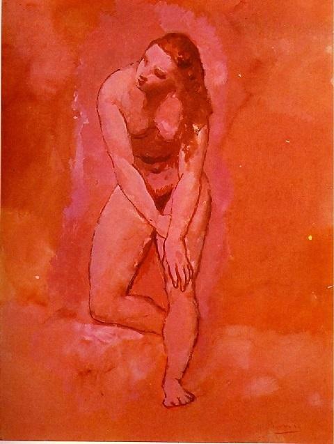 Pablo Picasso. Etude sur le harem 1906