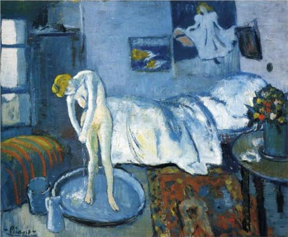 Pablo Picasso. La chambre bleue 1901