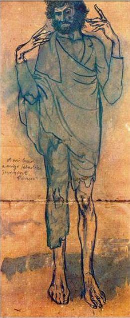 Pablo Picasso. Le fou 1904